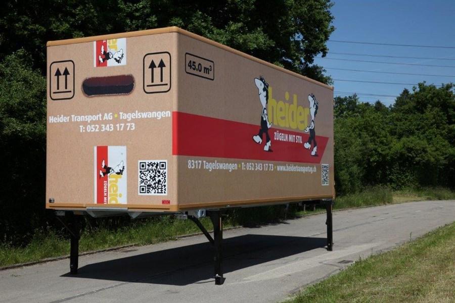 Container-Lagerraum bei Heider