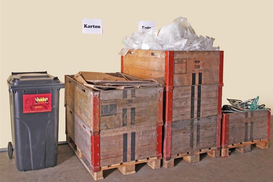 Entsorgung von Papier und Karton
