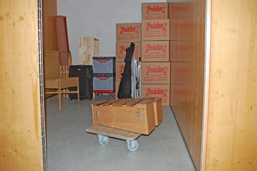 Individueller Lagerraum bei Heider