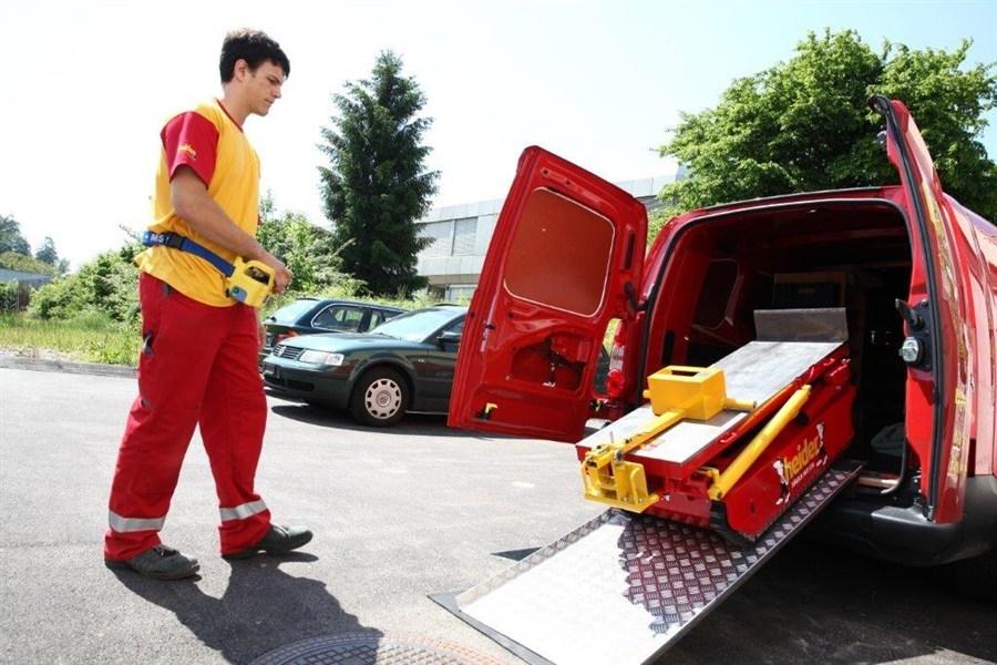 Das vielseitige Treppenfahrzeug